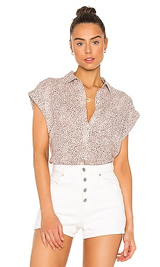Whitney Button Down Top Rails $100