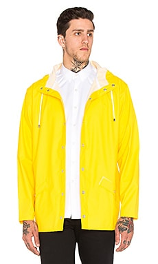 Rains Jacket in Wax Yellow