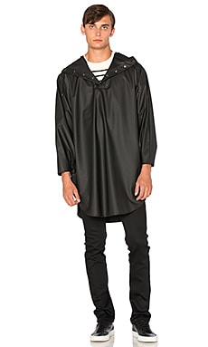 Rains Poncho in Black