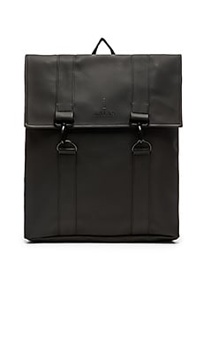 Rains MSN Bag in Black