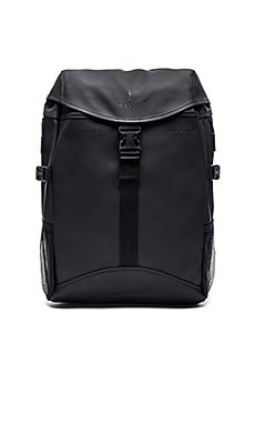 Rains Runner Bag in Black