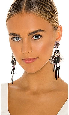 Beaded Drop Earrings Ranjana Khan $240