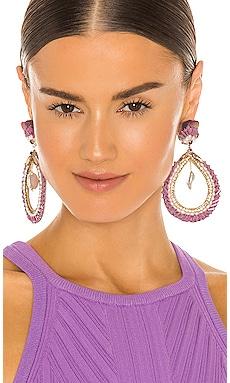 Teardrop Baroque Pearl Earrings Ranjana Khan $277 Collections