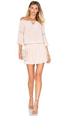 RAMY BROOK Nicci Off the Shoulder Dress in Blush