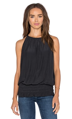 RAMY BROOK Sleeveless Lauren Top in Black