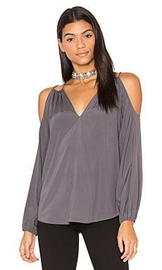 Gigi Top in Gunmetal