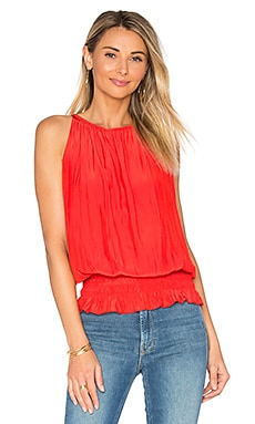 Sleeveless Lauren Top in Spring Red