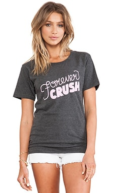 Forever Crush Tee in Charcoal
