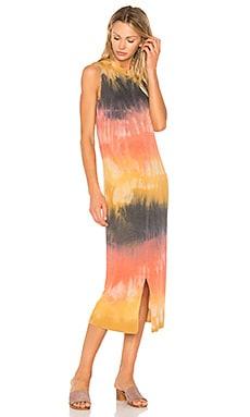 Split Muscle Tee Dress