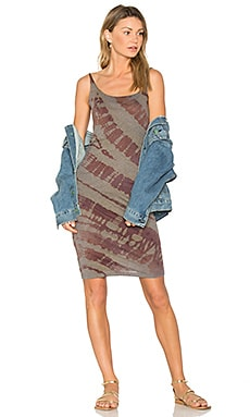 Layering Tank Dress in Mulberry Tie Dye