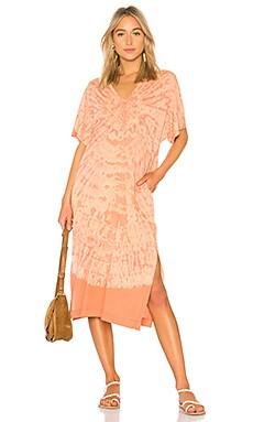 V Neck Boxy Dress