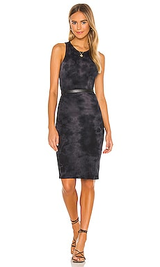 Racerback Dress Raquel Allegra $230 NEW