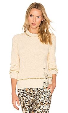 Shred Sweater in Ivory