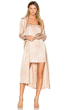 Robe Dress in Desert Wash
