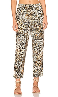 Easy Pant in Classic Leopard