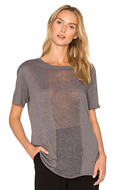 Shred Tee in Gray