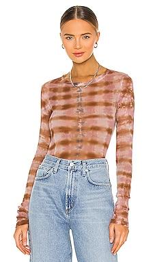 Long Sleeve Mesh Top Raquel Allegra $295