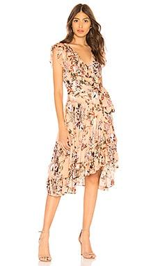 Meva Peach Dress RAVN $128