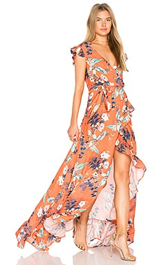 Galla Dress in Flower Print