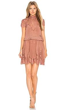 Nela Dress in Dusty Rose