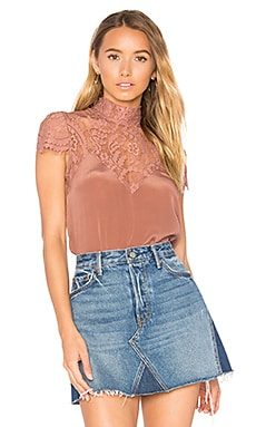 Noma Top in Dusty Rose