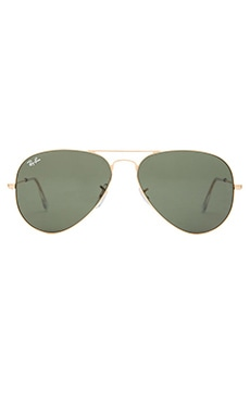 Ray-Ban Aviator in Gold