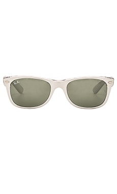 New Wayfarer Color Mix in Silver Transparent & Silver Mirror