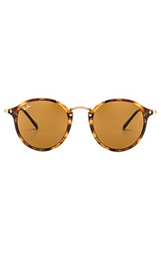 Round Fleck Ray-Ban $163 BEST SELLER