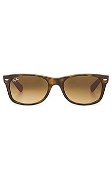 New Wayfarer in Matte Havana