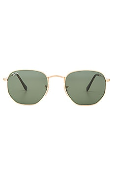 Hexagonal Flat Ray-Ban $178 BEST SELLER