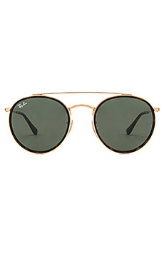 Round Double Bridge Ray-Ban $172