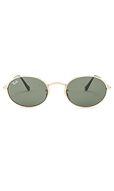 Oval Flat Ray-Ban $153 BEST SELLER