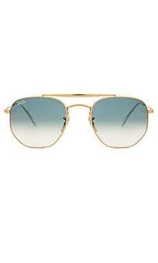 64c7cbfadc Ray-Ban Marshall in Gold   Blue Gradient