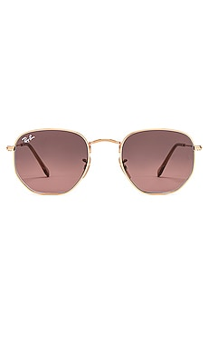 Hexagonal Flat Ray-Ban $169 BEST SELLER