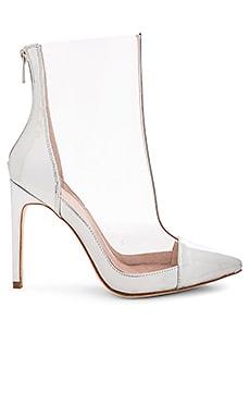 Фото - Сапоги на каблуке harlem - RAYE цвет металлический серебряный
