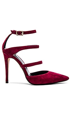 RAYE x REVOLVE Carrie Pump in Merlot