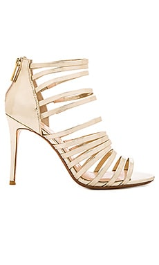 x REVOLVE Brielle Heel in Gold Mirror