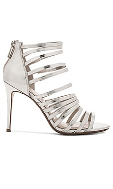 RAYE Brielle Heel in Silver Mirror