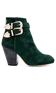 RAYE Vivienne Bootie in Evergreen