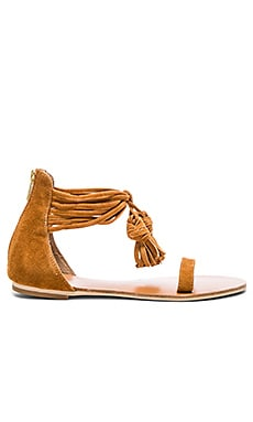 RAYE x REVOLVE Skye Sandal in Whiskey