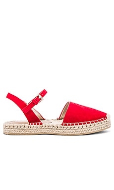 Dean Espadrille in Ruby