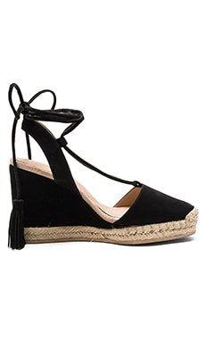 Daisy Wedge in Black