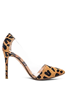 RAYE Terry Pony Hair Pump in Tan Leopard