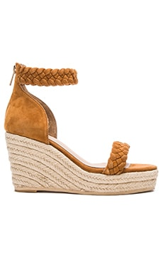 RAYE Dara Wedge in Whiskey