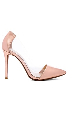 RAYE Terry Pump in Rose Gold