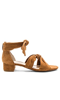 Aurora Sandal in Dark Tan