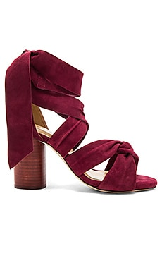 Myra Heel in Crimson