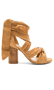 Myra Heel in Dark Tan