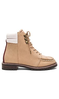 Emi Boot in Tan