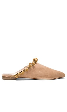 Jasmin Flat in Tan